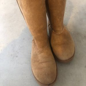 Chestnut UGGS tall boots